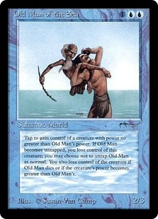 Magic the Gathering Arabian Nights Single Old Man of the Sea UNPLAYED (NM/MT)