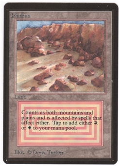 Magic the Gathering Beta Single Plateau UNPLAYED (NM/MT)