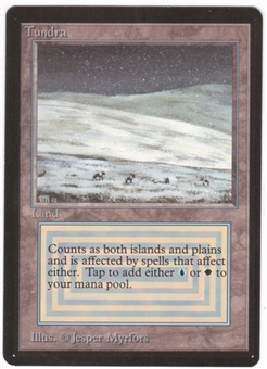 Magic the Gathering Beta Single Tundra - NEAR MINT (NM)