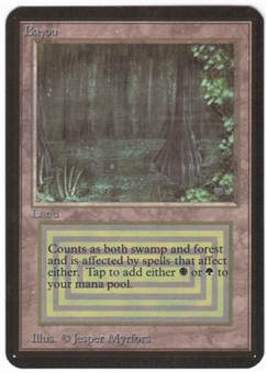 Magic the Gathering Alpha Single Bayou - NEAR MINT (NM)