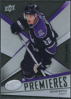 2008/09 Upper Deck Ice #122 Brian Boyle /999