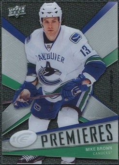 2008/09 Upper Deck Ice #123 Mike Brown /999