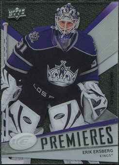2008/09 Upper Deck Ice #128 Erik Ersberg /999