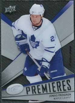 2008/09 Upper Deck Ice #131 Jonas Frogren /999