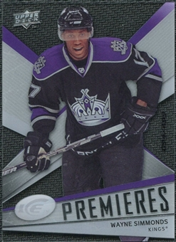2008/09 Upper Deck Ice #151 Wayne Simmonds /499