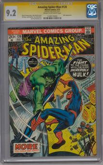 Amazing Spider-Man #120 CGC 9.2 (C-OW) Stan Lee Signature Series *1149170003*