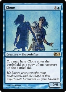 Magic the Gathering 2014 Single Clone - 4x Playset - NEAR MINT (NM)