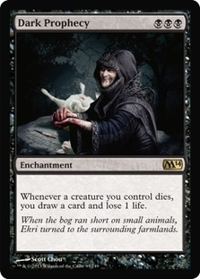 Magic the Gathering 2014 Single Dark Prophecy Foil
