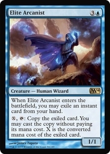 Magic the Gathering 2014 Single Elite Arcanist - 4x Playset - NEAR MINT (NM)