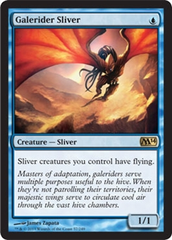 Magic the Gathering 2014 Single Galerider Sliver - NEAR MINT (NM)
