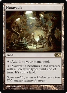 Magic the Gathering 2014 Single Mutavault FOIL - NEAR MINT (NM)
