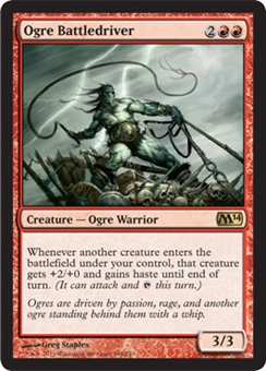 Magic the Gathering 2014 Single Ogre Battledriver - NEAR MINT (NM)