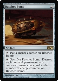Magic the Gathering 2014 Single Ratchet Bomb UNPLAYED (NM/MT)