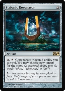 Magic the Gathering 2014 Single Strionic Resonator - NEAR MINT (NM)