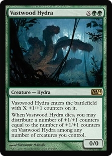 Magic the Gathering 2014 Single Vastwood Hydra - 4x Playset - NEAR MINT (NM)