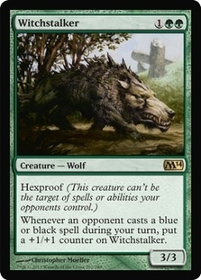 Magic the Gathering 2014 Single Witchstalker UNPLAYED (NM/MT)