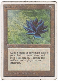 Magic the Gathering Unlimited Single Black Lotus - HEAVY PLAY (HP)