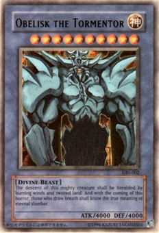 Yu-Gi-Oh Promo Single Obelisk The Tormentor Ultra Rare (GBI-002)