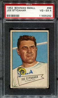 1952 Bowman Small Football #99 Joe Stydahar PSA 4 (VG-EX) *5292