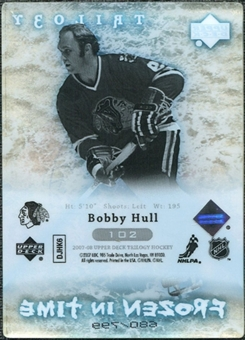 2007/08 Upper Deck Trilogy #102 Bobby Hull /799