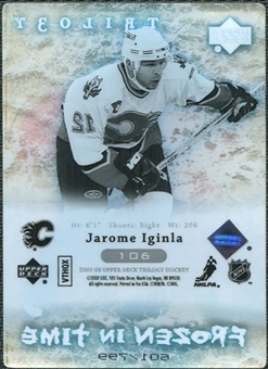 2007/08 Upper Deck Trilogy #106 Jarome Iginla /799