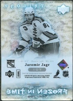 2007/08 Upper Deck Trilogy #107 Jaromir Jagr /799