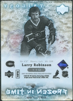 2007/08 Upper Deck Trilogy #110 Larry Robinson /799