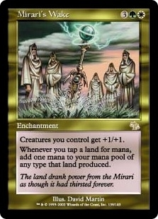 Magic the Gathering Judgment Single Mirari's Wake - SLIGHT PLAY (SP)