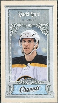 2008/09 Upper Deck Champ's Mini #C56 David Krejci