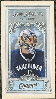 2008/09 Upper Deck Champ's Mini #C68 Jason LaBarbera
