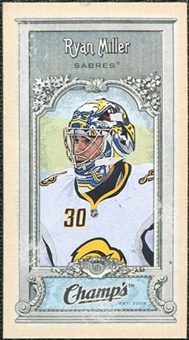 2008/09 Upper Deck Champ's Mini #C159 Ryan Miller