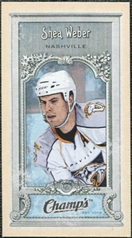 2008/09 Upper Deck Champ's Mini #C170 Shea Weber