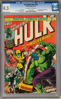 Incredible Hulk #181 CGC 4.5 (OW-W) *1176171001*