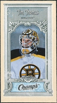 2008/09 Upper Deck Champ's Mini #C177 Tim Thomas