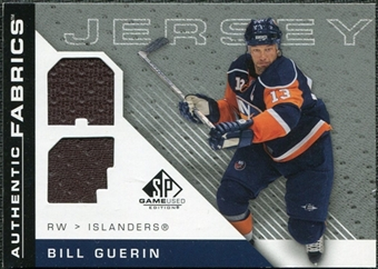 2007/08 Upper Deck SP Game Used Authentic Fabrics #AFBG Bill Guerin