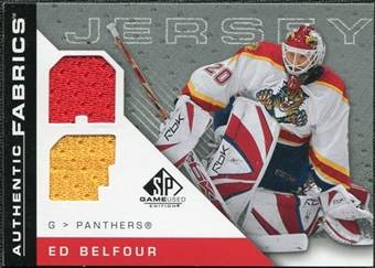 2007/08 Upper Deck SP Game Used Authentic Fabrics #AFEB Ed Belfour