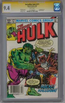 Incredible Hulk #271 CGC 9.4 (W) Stan Lee Signature Series *1177394021*