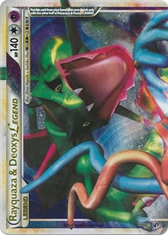 Pokemon Undaunted Single Rayquaza & Deoxys Legend (Top) 89/90 - SLIGHT PLAY (SP)