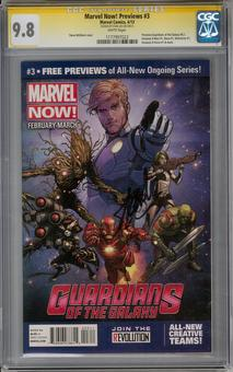 Marvel Now Previews #3 CGC 9.8 (W) Stan Lee SignatureSeries *1177997023*