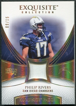 2007 Upper Deck Exquisite Collection Patch Spectrum #PR Philip Rivers 9/15