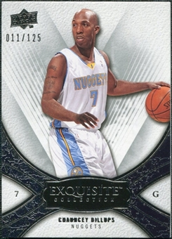 2008/09 Upper Deck Exquisite Collection #20 Chauncey Billups /125