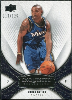 2008/09 Upper Deck Exquisite Collection #33 Caron Butler /125