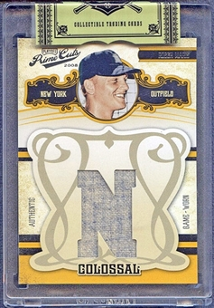 2008 Playoff Prime Cuts Baseball Roger Maris Jersey #21/25