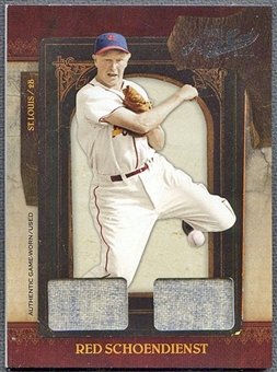 2008 Playoff Prime Cuts Baseball Red Schoendienst Jersey #13/29