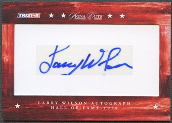 2007 TriStar Signa Cuts Football Larry Wilson Cut Auto #071/185