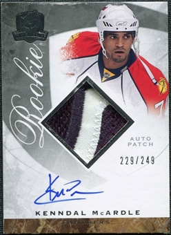 2008/09 Upper Deck The Cup #106 Kenndal McArdle Rookie Patch Auto /249