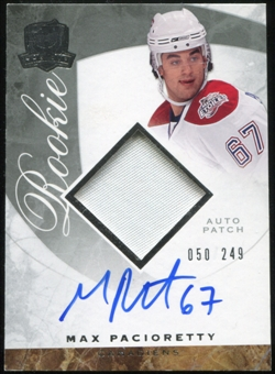 2008/09 Upper Deck The Cup #112 Max Pacioretty Rookie Patch Auto 50/249