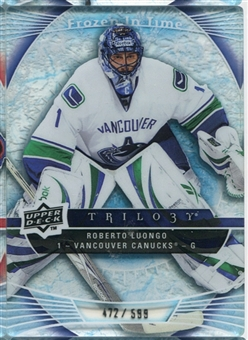 2009/10 Upper Deck Trilogy #116 Roberto Luongo FIT /599
