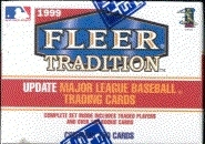 1999 Fleer Tradition Update Baseball Factory Set (box)