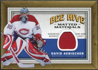 2006/07 Upper Deck Beehive Matted Materials #MMAE David Aebischer